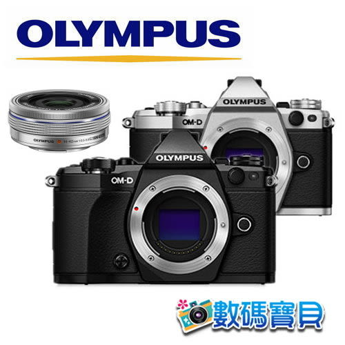 【送SanDisk 64g】OLYMPUS E-M5 Mark II + 14-42mm EZ KIT【10/21前申請送手把,元佑公司貨】相機 em5 m2