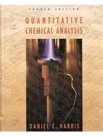 二手書博民逛書店 《Quantitative Chemical Analysis》 R2Y ISBN:0716725088│DanielC.Harris