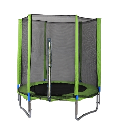 降價兩天 彈跳床蹦蹦床室內帶安全護網彈簧跳跳床戶外蹦極床家用游樂場兒童玩具