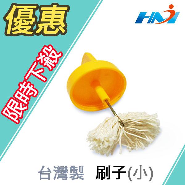 《台灣製》硬質膠合劑 專用刷 100g 用/PVC塑膠管黏著劑 接著劑 /膠油黏合劑/水管膠水專利刷頭(1入)