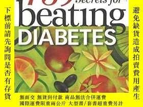 二手書博民逛書店759罕見Secrets For Beating Diabete