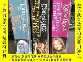 二手書博民逛書店the罕見lord of the rings :thefello
