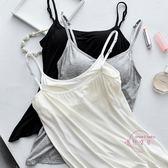bra-t帶胸墊裹胸抹胸打底內衣女防走光帶文胸一體式吊帶背心長款 全館免運