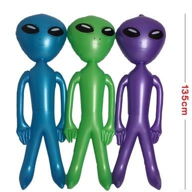 [協貿國際]  超大兒童充氣玩具人偶娃娃充氣外星人 (1入)
