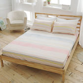 [SN]#U058#細磨毛天絲絨6x6.2尺雙人加大床包+枕套三件組-台灣製(不含被套)