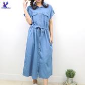【春夏新品】American Bluedeer - 綁帶牛仔洋裝