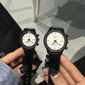 森女繫手錶chic風學院派bf女中學生2017新款情侶韓版男簡約一對錶【店慶8折促銷】