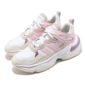 adidas 休閒鞋 Boujirun 白 米白 粉紅 女鞋 復古慢跑鞋 愛迪達 Neo 【ACS】 FY6638