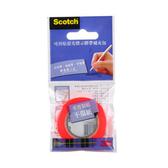 【奇奇文具】【3M Scotch 螢光標示膠帶】Scotch 812 可再貼螢光標示膠帶(補充包)