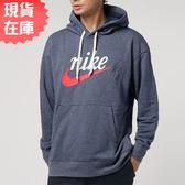 【現貨】NIKE Sportswear 男裝 長袖 連帽 休閒 刷毛 棉質 藍【運動世界】BV2934-410