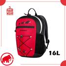 【MAMMUT 長毛象 First Zip 兒童背包 16L 《黑/地獄紅》】2510-01542/書包/後背包/上課包