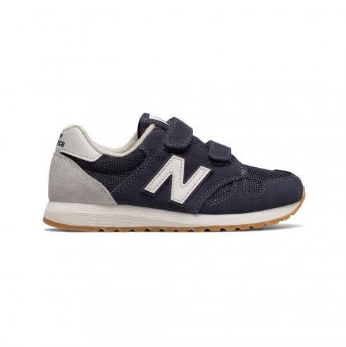 NEW BALANCE 520 童鞋 中童 慢跑 訓練 網布 透氣 避震 麂皮 藍 灰 【運動世界】 KA520NWY