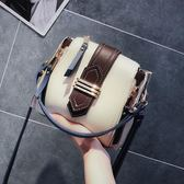 小包包女夏天上新款潮百搭韓版港風復古水桶包手提單肩斜挎包  Cocoa