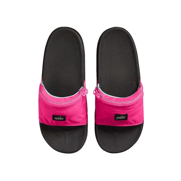 Nike Offcourt SLIDE FP BeTrue 男女 黑粉 拉鍊口袋 運動 拖鞋 DD6783-600