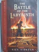 【書寶二手書T3/原文小說_NMA】The Battle of the Labyrinth_Rick Riordan