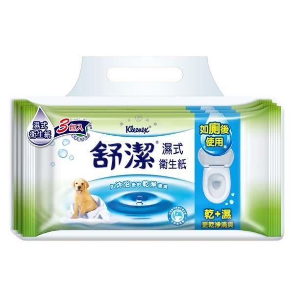 舒潔 濕式衛生紙 40抽3包