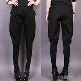 夏哈倫褲女冬高腰顯瘦休閒褲寬鬆小腳蘿卜褲大碼長褲