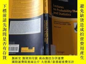 二手書博民逛書店Lectures罕見on probability theory