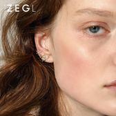 【雙11】花朵耳夾耳釘氣質韓國簡約清新耳環耳骨夾無耳洞潮流坐標免300