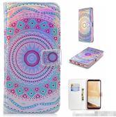 三星 Galaxy S8 日韓個性翻蓋皮套手機殼 創意翻蓋式保護套 SamSung S8 Plus 個性翻蓋皮套手機套