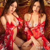性感日式印花和服大碼角色扮演制服極度誘惑套裝cos情趣內衣睡衣 完美情人精品館