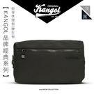 KANGOL 英國袋鼠 韓國經典系列 側背休閒包 黑色 KG1152-02 得意時袋