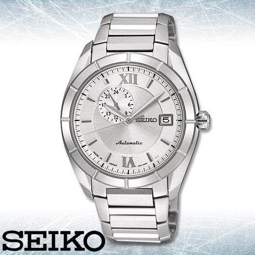 SEIKO 精工手錶專賣店 SSA009J1 男錶 機械錶 手動+自動上鍊腕錶 不鏽鋼錶帶 藍寶石水晶鏡面 防水100米