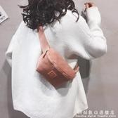 新款休閒胸包女側背包包單肩洋氣牛津布尼龍布腰包女士胸前包 科炫數位