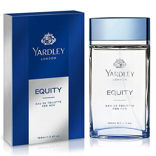 【YARDLEY 雅麗】Equity 清爽平衡 男性淡香水 100ml