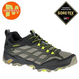 丹大戶外【MERRELL】美國 男款 MOAB FST GORE-TEX 多功能健行登山鞋 ML37601 橄欖綠/黑