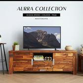 【預購11月底】AURRA奧拉鄉村系列實木5.3尺電視櫃(SGV/82551原木5.3尺電視櫃)【DD House】
