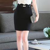 中尺碼*優雅合身波浪設計OL窄裙短裙~(不含腰帶)~美之札