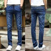 牛仔褲 新款牛仔褲子男牛仔褲青年時尚大碼寬鬆牛仔褲 aj2283『美鞋公社』