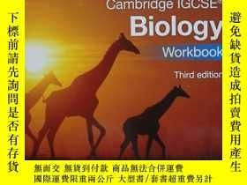 二手書博民逛書店Cambridge罕見IGCSE Biology Workboo
