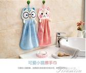 擦手巾-廚房可愛掛式擦手巾強吸水洗碗毛巾抹布珊瑚絨卡通擦手毛巾 提拉米蘇