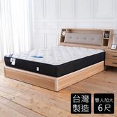 【時尚屋】蒂芙妮天絲透氣6尺加大雙人獨立筒床墊BD81-16-6免運費/免運費/台灣製