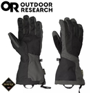 【Outdoor Research 美國 男 ARETE Gore-Tex防水手套《黑/碳灰》】271615/保暖手套/滑雪