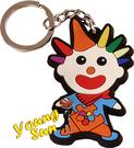 宣傳利器 造型鑰匙圈 客製化鑰匙圈 送禮好物 婚禮小物 個性鑰匙圈 廣告文宣 Q版小丑造型