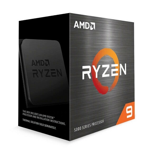 AMD Ryzen 9 5900X R9-5900X 12核24緒處理器 100-100000061WOF