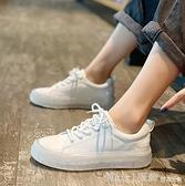 平底鞋 小白鞋女2020新款秋季ins韓版學生百搭網紅學院風厚底休閒板鞋子 開春特惠