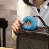 創意可愛糖果分裝盒便攜旅行出差小藥盒甜甜圈造型小物件收納盒【新年交換禮物降價】