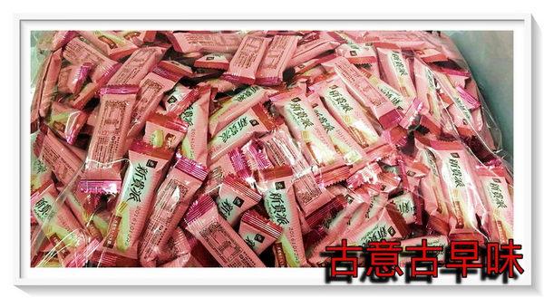 古意古早味 新貴派白巧克力(花生/3000g) 古早味 懷舊零食 糖果 喜糖 宏亞 迷你77