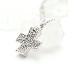 祝福-十字晶鑽項鍊