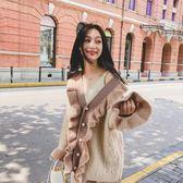 毛衣女開衫秋裝新款寬鬆韓版
