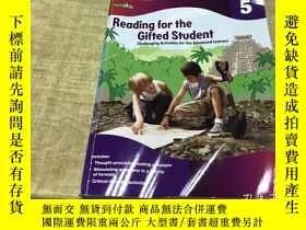 二手書博民逛書店Reading罕見for the Gifted Student grade 5 2005年版本 保證 英語 原版