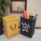 手提髒衣籃大號鐵藝摺疊防水洗衣籃髒衣簍玩具收納筐儲物箱棉麻 樂活生活館