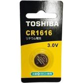 東芝 鈕扣電池CR1616-1入卡【愛買】