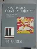 【書寶二手書T2/收藏_PLP】ARTCURIAL_Post-war Contemporain II