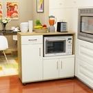 北歐餐邊櫃現代簡約茶水櫃櫥收納碗櫃廚房烤箱儲物微波爐櫃子客廳 【棉花糖伊人】