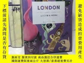 二手書博民逛書店London,罕見Shops & More倫敦復古商 攝影集 紫